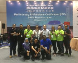 TCTECH @ AutoMechanika Kuala Lumpur Mechanics Challenge